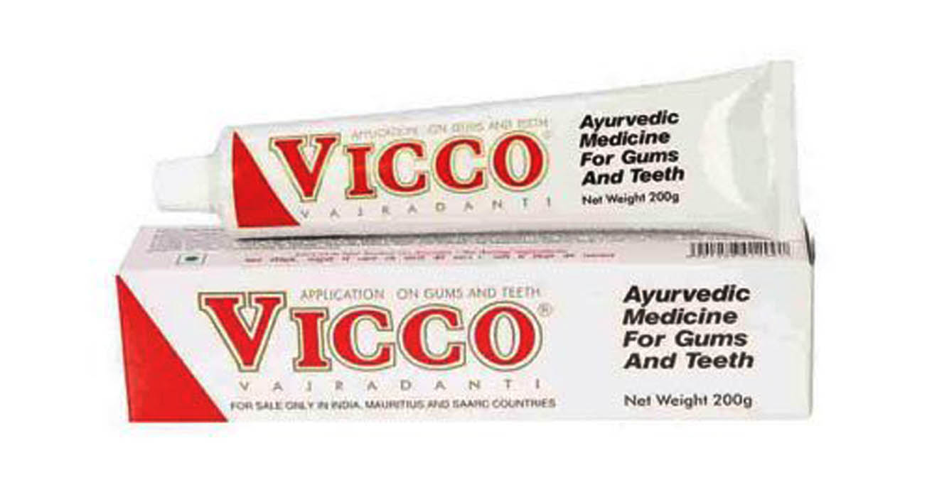Vicco Tooth Paste